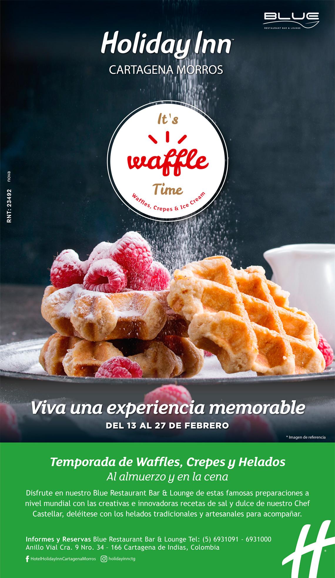Festival Waffles, Crepes y Helados